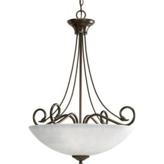 Progress Lighting Pavilion Collection 3 Light Antique Bronze Foyer Pendant P3325 20