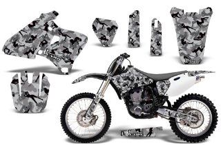Urban Camo AMRRACING MX Graphics decal kit fits Yamaha YZ 250/400/426 (1998 2002) Black Automotive