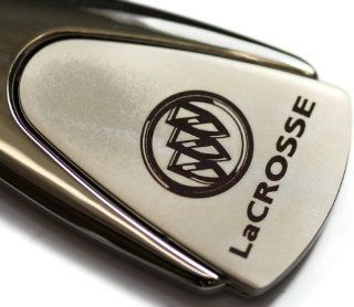 Buick LaCrosse Chrome Teardrop Key Fob Authentic Logo Key Chain Key Ring Keychain Lanyard Automotive