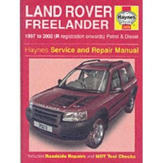 Land Rover Freelander Service and Repair Manual (Haynes Service and Repair Manuals) Martynn Randall, R. M. Jex 9781859609293 Books