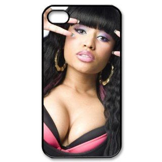 Custom Nicki Minaj Cover Case for iPhone 4 4s LS4 3095 Cell Phones & Accessories
