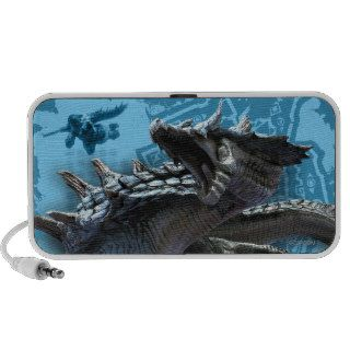 Lagiacrus chasing Hunter Notebook Speaker