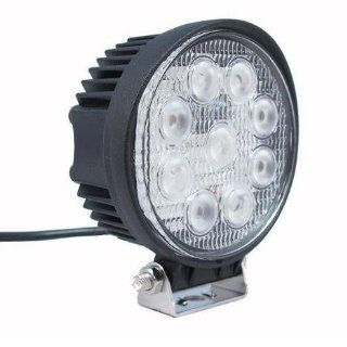Nilight(TM) LED Work Light Lamp Off Road High Power ATV Jeep 4x4 Tractor 27w Round 30 Degree Round Spot Light   Led Household Light Bulbs