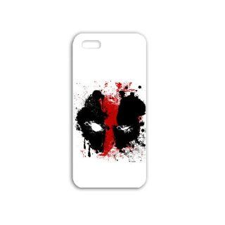 Diy Apple iPhone 5S Phone Case Personalized Gift Games Action Adventure Games Deadpool Abstract Game White Cell Phones & Accessories