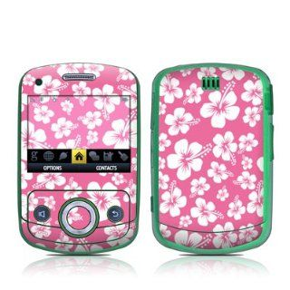 Aloha Pink Design Decal Skin Sticker for the Samsung Reclaim M560 Cell Phone Cell Phones & Accessories