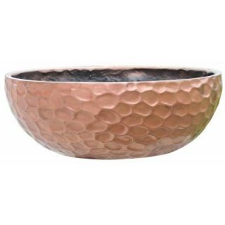 14.75 in. Fiber Glass Essex Hammered Metal Bowl DISCONTINUED FGS 500167