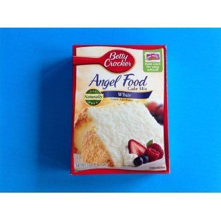 Betty Crocker Angel Food Cake Mix, White, 16 Ounce Boxes (Pack of 12)  Grocery & Gourmet Food