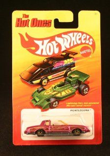 MONTEZOOMA (PURPLE) * The Hot Ones * 2011 Release of the 80's Classic Series   164 Scale Throw Back HOT WHEELS Die Cast Vehicle Toys & Games