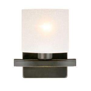 Hampton Bay Ettrick 1 Light Oil Rubbed Bronze Wall Sconce DTH1311A 4