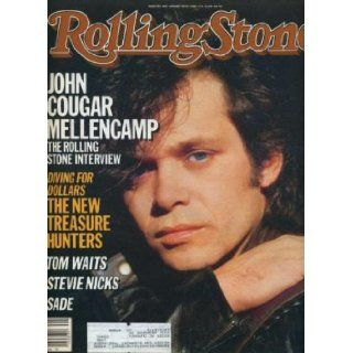 Rolling Stone Magazine Jan. 30, 1985 Issue 466 John Cougar Mellencamp Cover Books