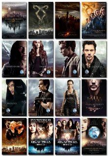 16 Fridge Magnets The Mortal Instruments City of Bones (2013)  Refrigerator Magnets
