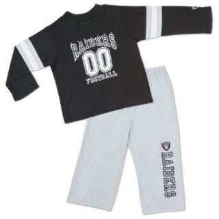 NFL Oakland Raiders 2 Piece Set, Toddler Pajamas, 4T  Football Apparel  Clothing