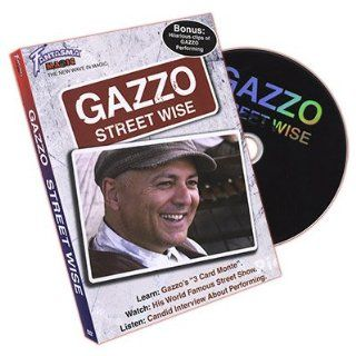 Magic DVD Gazzo Street Wise by Fantasma Magic Toys & Games