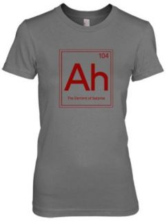 Womens Element Of Surprise T Shirt Funny Periodic Table Chemistry Tee