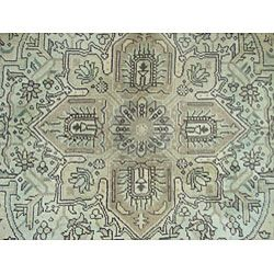Persian Antique Tabriz Gold/ Brown Rug (8'4 x 11'5) 7x9   10x14 Rugs