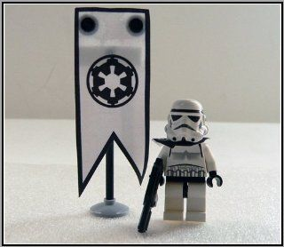 "Lego Custom Star Wars 501 st. Stormtrooper 2"" Minifig Toys & Games"