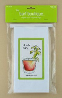 """Bloody Mary"" Party Barf Bags (5/pk) Health & Personal Care"