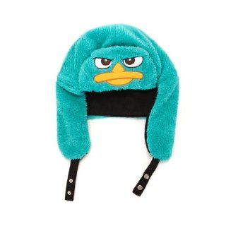 Disney Phineas and Ferb Perry The Platypus Adult Faux Fur Beanie Hat Toys & Games
