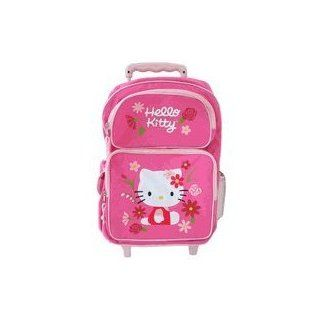 Sanrio Hello Kitty Rolling Backpack  Full size School bag Toys & Games