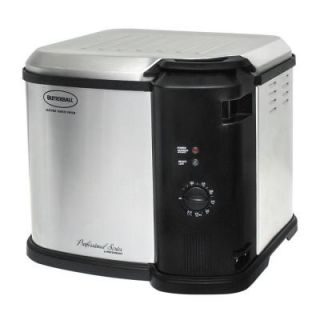 Butterball Gen III Stainless Steel Indoor Electric Turkey Fryer 23011014