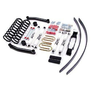"Zone Offroad 4.5"" XJ Suspension System 84 01 Jeep Cherokee XJ Chrysler Dana 35 rear axle (2 3/4"" ID U botls) Automotive"