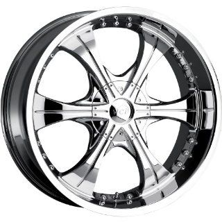 VCT Scarface 2 24 Chrome Wheel / Rim 6x135 & 6x5.5 with a 30mm Offset and a 87.1 Hub Bore. Partnumber V43 2491261351397+30 Automotive