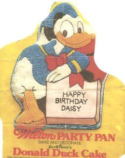 Wilton Cake Pan Donald Duck (502 7245) Kitchen & Dining