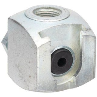 "Alemite 42030 Button Head Coupler, For Use with Standard or Giant Button Head Fittings, 7/16"" Female NS 2 Hydraulic Hose Fittings"