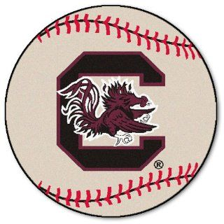 Fanmats South Carolina Gamecocks Baseball Shaped Mat  Sports & Outdoors