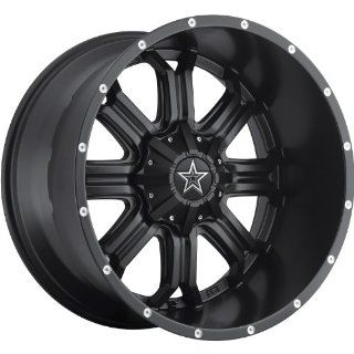 TIS 535B 18 Black Wheel / Rim 8x180 with a  12mm Offset and a 125 Hub Bore. Partnumber 535B 8908912 Automotive