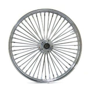 Ultima King Spoke Chrome Front Single Disc Wheel 21x2.15 for 2000 06 Harley Models (37 526) Automotive