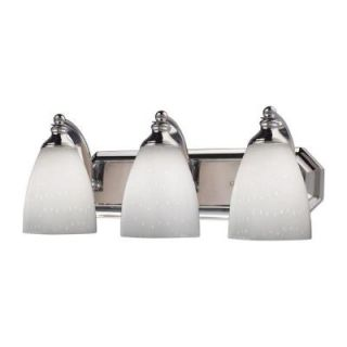 Titan Lighting 3 Light Wall Mount Polished Chrome Vanity TN 5702