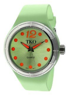 TKO ORLOGI Women's TK531 GR Candy Collection Fun Colorful Rubber Watch Watches
