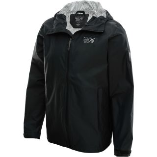 MOUNTAIN HARDWEAR Mens Plasmic Jacket   Size 2xl, Black