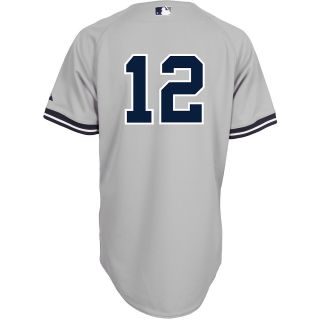 Majestic Athletic New York Yankees Alfonso Soriano Authentic Road Jersey   Size