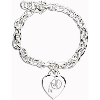 Wincraft Washington Redskins Heart Charm Bracelet (62389091)