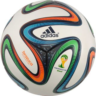 adidas Brazuca 2014 FIFA World Cup Official Match Soccer Ball   Size 5,
