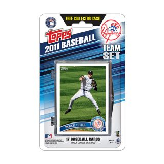 Topps 2011 New York Yankees Official Team Baseball Card Set of 17 Cards in