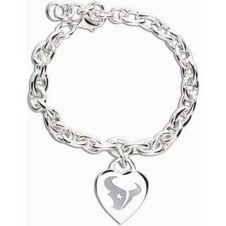Wincraft Houston Texans Heart Charm Bracelet (62360091)