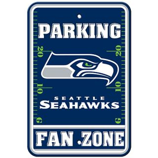 FREMONT DIE Seattle Seahawks Fan Zone Parking Sign