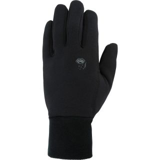 MOUNTAIN HARDWEAR Mens Heavyweight Power Stretch Glove   Size Medium, Black