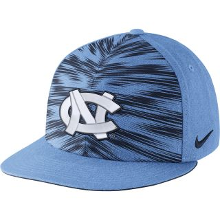 NIKE Mens North Carolina Tar Heels Players Game Day True Snapback Cap   Size