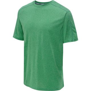 CHAMPION Mens PowerTrain Heather Short Sleeve T Shirt   Size Xl, Bright Green