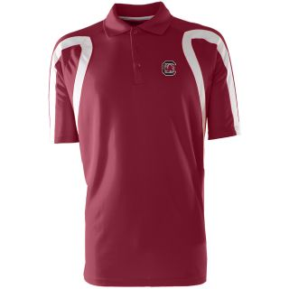 Antigua Mens South Carolina Gamecocks Point Desert Dry Xtra Lite Moisture