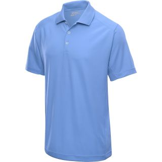 NIKE Mens Tech Jersey Golf Polo   Size 2xl, University Blue/white