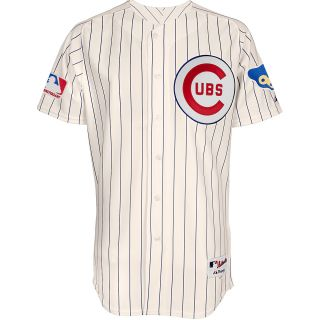 MAJESTIC ATHLETIC Mens Chicago Cubs 1969 Sunday Authentic Replica Home Jersey