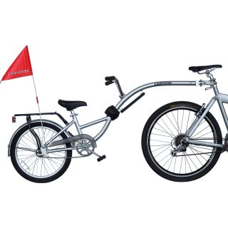 Morgan Cycle Shadow Aluminum Bicycle Trailer (41109)