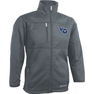 NFL Team Apparel Youth Tennessee Titans Bonded Fleece Full Zip Jacket   Size