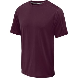 CHAMPION Mens Vapor Heathered Short Sleeve T Shirt   Size Medium, Shiraz