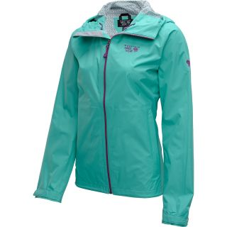 MOUNTAIN HARDWEAR Womens Plasmic Full Zip Jacket   Size Medium, Atlantis